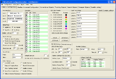 PSREdit500 - Configuration Editor for the PSR-500, PSR-600